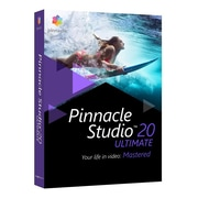 Corel® Pinnacle® Studio 20 Ultimate Video Editing Software, Windows, DVD (PNST20ULEFAM)