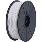 Flashforge™ 3D-BUM-DABSWH-E Bumat Elite Dreamer Series Dremel White ABS Filament for 3D Printers
