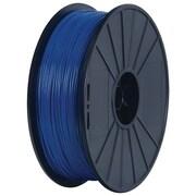 Flashforge™ 3D-BUM-DPLABU-E Bumat Elite Dreamer/Finder Series Dremel Blue PLA Filament for 3D Printers