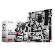msi® TITANIUM EDITION Intel Z170 ATX Desktop Motherboard, 64GB (Z170A XPOWER GAMING)