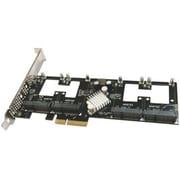 Addonics® AD4MSPX2-A Quad mSATA PCIe Solid State Drive