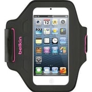 "Belkin™ F8W149TTC01 Ease-Fit Armband Carrying Case for 4"" Apple iPod touch 5G, Day Glow"