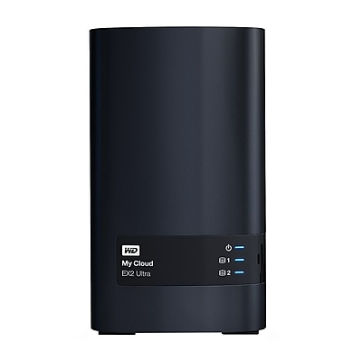 WD Diskless My Cloud EX2 Ultra Network Attached Storage, NAS (WDBVBZ0000NCH-NESN)