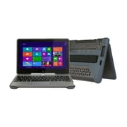 """MAX CASES 1244XR-GRY Polycarbonate/TPU Carrying Case for 11.6"""" HP EliteBook Revolve 810, Gray"""