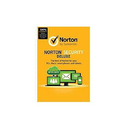 Symantec Norton Deluxe 3 0 Security Software 5 Pc