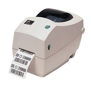 "Zebra® 203 dpi Monochrome Thermal Transfer Label Printer, 7"" x 5.3"" x 9.5"", White (282P-101210-000)"