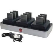 zCover® CI92AU3B zDock® Desktop Multi-Battery Charger, Black