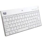 Adesso® Wireless Bluetooth Mini Keyboard, White (WKB-1000BW)