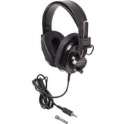 Ergoguys Califone® Deluxe 2924AVPS-BK Wired Stereo Headphones