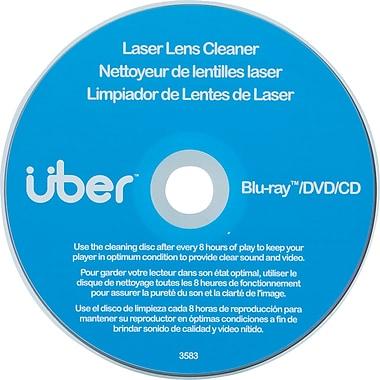 UBER - Nettoyeur pour lentille laser pour CD, DVD et Blu-ray, 27311