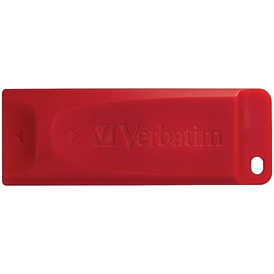 Verbatim 97005 Store 'n' Go® USB Flash Drive, Red (64b)