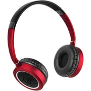 Hmdx Hx-hp450rd Journey Bluetooth® Wireless Headphones With Microphone (red)