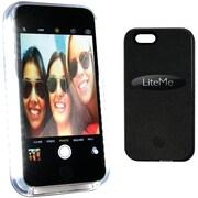 Serene-life SliP201bk iPhone® 6 Plus Lite-me Selfie Lighted Smart Case (black)