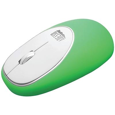 Adesso  E60g iMouse™  E60 Wireless Antistress Gel Mouse (green)