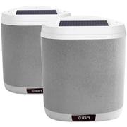 Ion Isp64p Keystone Solar-charged Patio Speakers