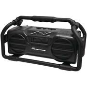 Pyle Pro Pjsr350bk Industrial Boombox Rugged Bluetooth® Speaker (black)