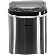 MAGIC CHEF MCIM22ST 27lb-Capacity Ice Maker (Stainless)