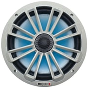 "Mb Quart Nautic Series 8"" 140-watt 2-way Coaxial Speaker System (with Led Illumination)"