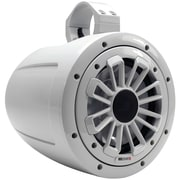 Mb Quart Nautic Series 2-way Wake Tower Speaker With Dove Gray Finish and Mounting Hardware