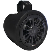 Mb Quart Nt1-116b Nautic Series 2-way Wake Tower Speaker With Matte Black Finish and Mounting Hardware