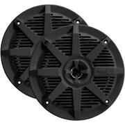 "Boss Audio Mr62b 2-way Full-range Marine Speakers (6.5"", Black)"