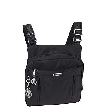 Beside-U - Sac en nylon Odile avec protection RFID, collection Cross, noir (BCS91-Black)
