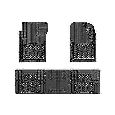 WeatherTech® - Ensemble de 3 tapis universels AVM (All Vehicle Mat) prêts à couper, noir