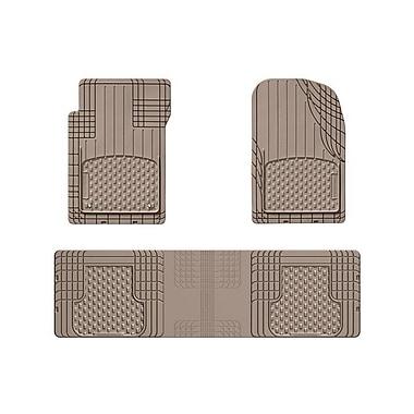 WeatherTech® - Ensemble de 3 tapis universels AVM (All Vehicle Mat) prêts à couper, beige