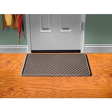 WeatherTechMD – Tapis d'entrée IndoorMatMC pour maison et bureau, 24 x 39 po, brun