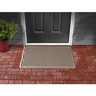 WeatherTechMD – Tapis de porte OutdoorMatMC pour la maison et le bureau, 30 x 60 po, havane
