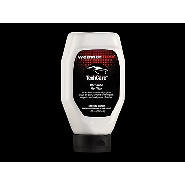 WeatherTech® – Cire de carnauba en gel TechCare®, bouteille de 18 oz