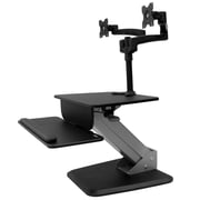 StarTech.com Dual Monitor Sit-to-stand Workstation (BNDSTSDUAL)