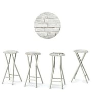 Best of Times Cinderblock 30'' Bar Stool (Set of 4)