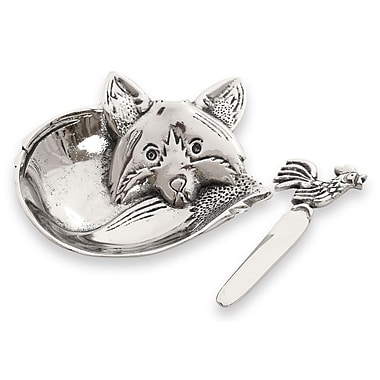 Star Home Fox Dip Dish and Spreader (Set of 2)