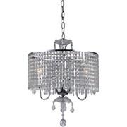 Warehouse of Tiffany Beaded 3-Light Crystal Pendant