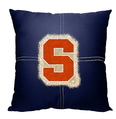 Northwest Co. Collegiate Syracuse Cotton Throw Pillow