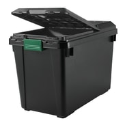 Remington 25.5 Gallon Heavy Duty Store-It All Tote w/ Lid (Set of 4)