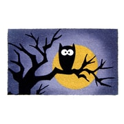 Geo Crafts Halloween Owl Doormat