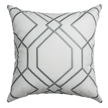 Softline Home Fashions Sierra Decorative Throw Pillow; Haze