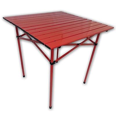 AspenBrands Picnic Table; Red