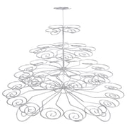 Creative Home Chrome Works 5 Tier Cup Cake Stand