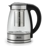 Aroma 1.75-qt. Glass and Stainless Steel Digital Kettle