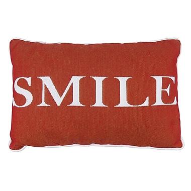 Park B Smith Ltd Smile Tapestry Decorative Throw Pillow