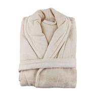 Melange Home Bathrobe; Taupe