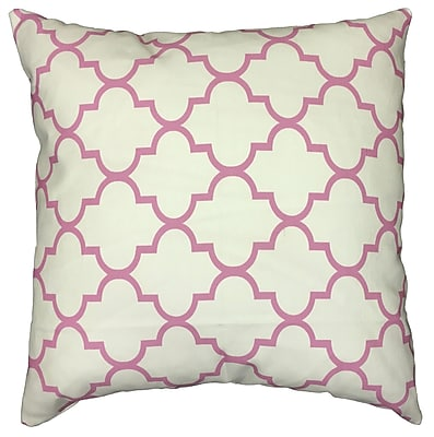 Collier Sun Arabesque Throw Pillow; 17.5'' H x 17.5'' W
