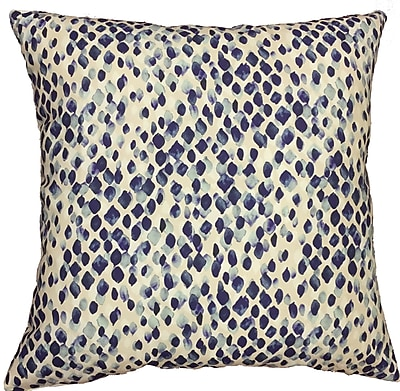 Collier Sun Drops Throw Pillow; 17.5'' H x 17.5'' W