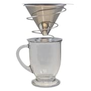 Khaw-Fee Barista Series Stainless Steel Pour over Drip Coffee Maker