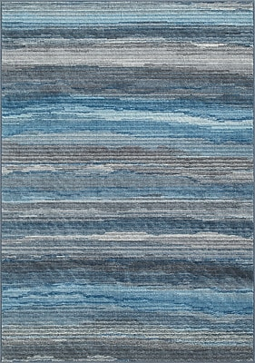 Dalyn Rug Co. Horizons Blue/Gray Area Rug; Rectangle 8'2'' x 10'