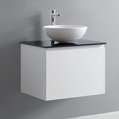 Vinnova Ferrara 24'' Single Vanity Set; White