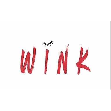 Secretly Designed 'Wink Beauty' Textual Art